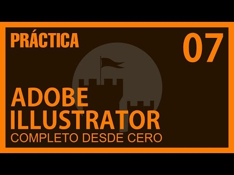 Illustrator Completo Capítulo 7 Practica con herramienta PLUMA @ADNDC @adanjp