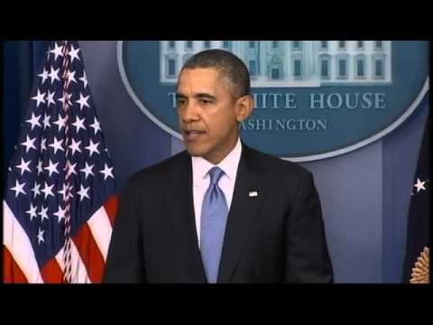 RAW: President Obama Outlines Sanctions Against Russia