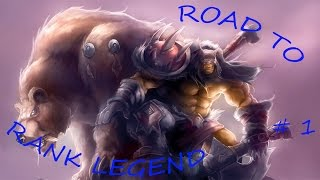 HEARTHSTONE: ROAD TO RANK LEGEND - SI INIZIA BENE #1
