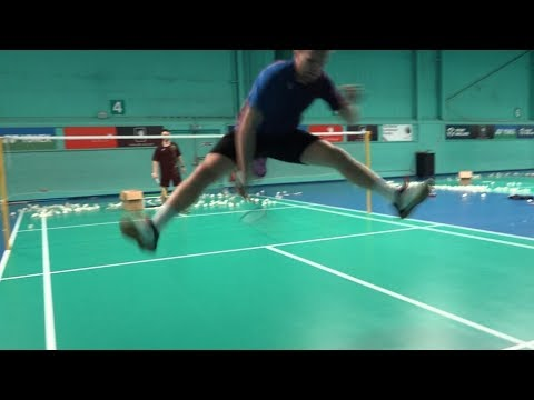 BEST BADMINTON TRICKSHOTS  AND HIGHLIGHTS 2015