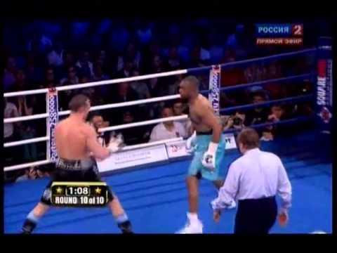 Рой Джонс - vs - Денис Лебедев нокаут