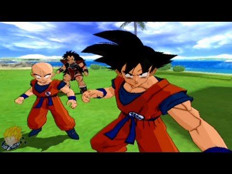 Dragon Ball Z Budokai Tenkaichi 2 - Story Mode -    Fateful Brothers   (Part 6) 【HD】