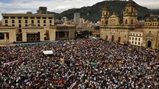 Colombians call for end to violence