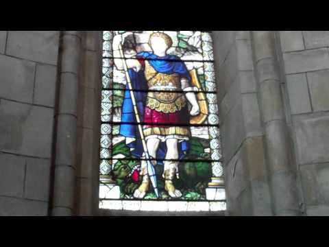 Colonel George Hope Lloyd Verney Memorial Window Carriden Church Bo'ness Scotland