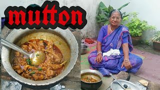 mutton masala - goat meat recipe by dadi | traditional Indian cooking | desi food recipes