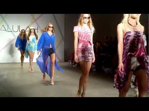 Talulah spring/summer 2012/2013 finale at Mercedes-Benz Fashion Week Australia