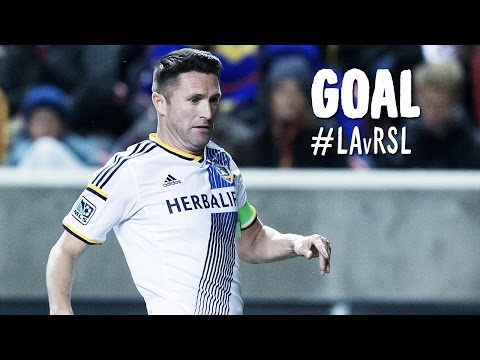 GOAL: Robbie Keane hammers in a Landon Donovan cross | LA Galaxy vs. Real Salt Lake