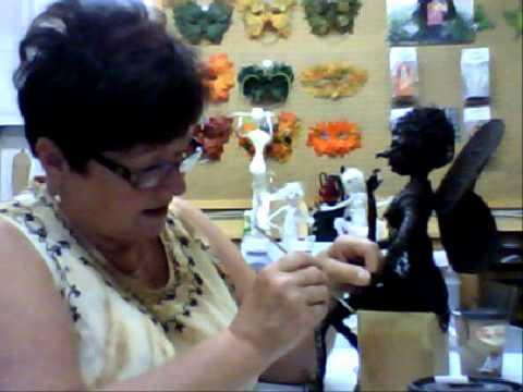Powertex Sculpting Tips with Artist ; Sharon Brassard