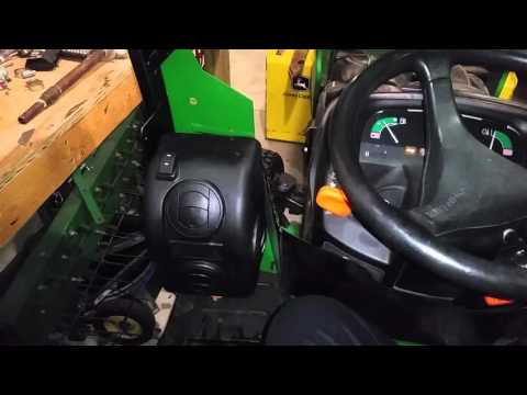 John deere x585 heater review.
