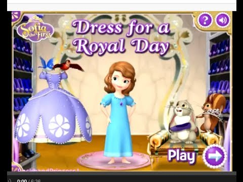 Sofia The First Room Games