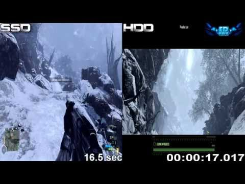 SSD & HDD Gaming Performance - Load time Comparison 1080p