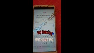 Redmi Note 7 Pro Frp Lock Remove ,,Redmi note 5pro  5a 6 6a Frp Remove(Google Account Remove)