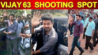 Vijay 63 Shooting Spot