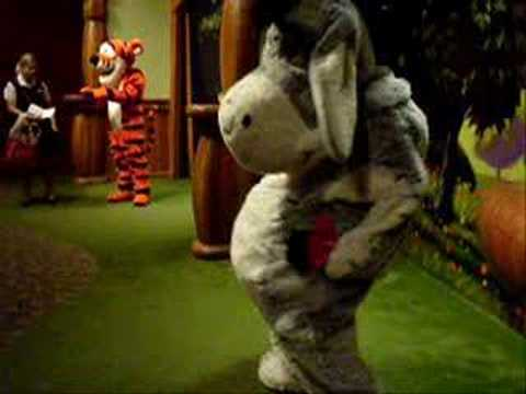 Eeyore dances Video