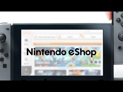 ¿Que se vende en la tienda virtual de Switch? (Nintendo eShop)