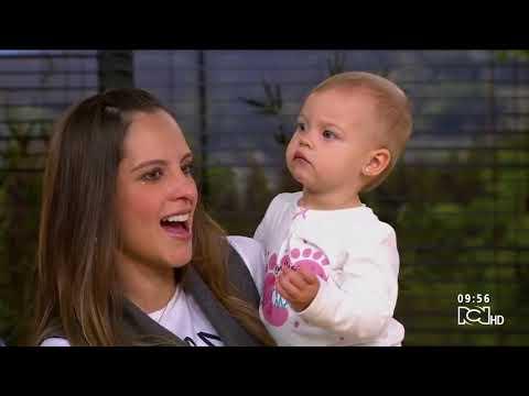 Laura Acuña espera a su segundo hijo