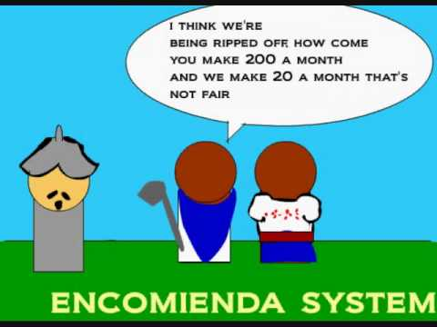 what is encomienda system Essential question: how did labor systems develop between 1450-1750 the encomienda and haciendas system - it started being put into use in 1503.