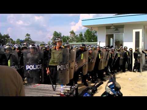 Cong Nhan Bieu Tinh Kcn Nam Tan Uyen video