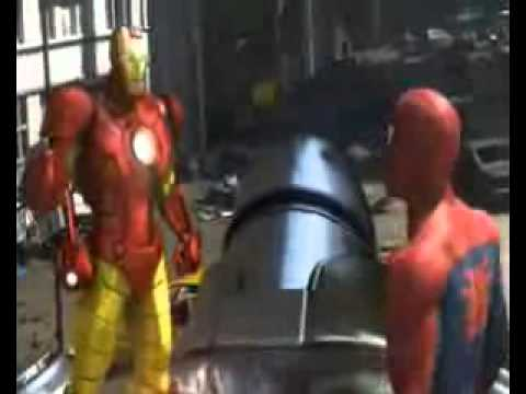 spiderman ironman