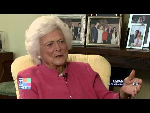 Barbara Bush on Former President Bill Clinton (C-SPAN)