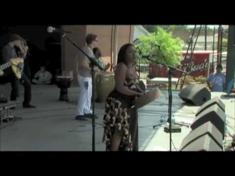 Paul Tchounga Chiwoniso Live Kurima Lafayette