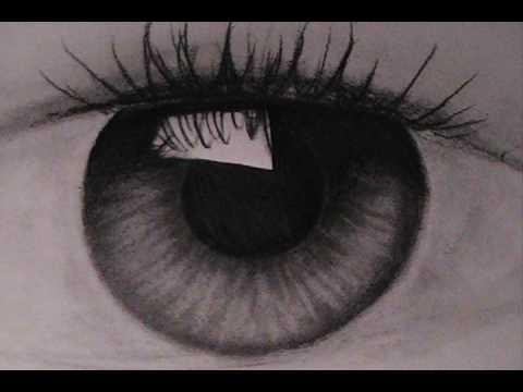 How to draw iris & eye