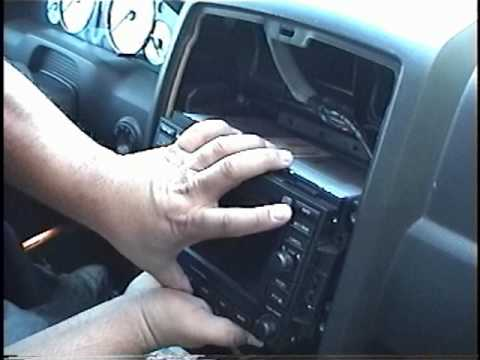How to Remove Radio / CD Changer / Navigation from 2005 Chrysler 300 for Repair