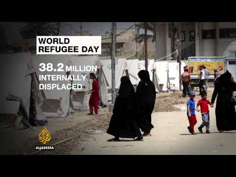 UN releases alarming figures on World Refugee Day
