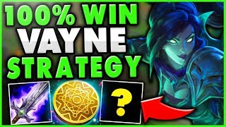 THIS VAYNE BUILD GUARANTEES HER BROKEN LATE-GAME! (NEW TANK BUILD) - League of Legends