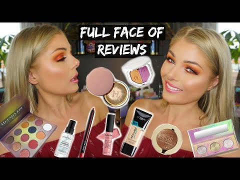 Full Face Of Reviews   GRWM