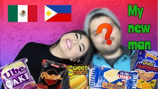 Filipino MUKBANG With my NEW MAN!