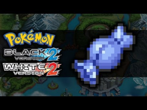 Pokemon Black 2 and White 2 | Rare Candy Locations