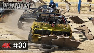 AS QUICK AS POSSIBLE - Wreckfest Onboard 4K - SANDPIT SHOWDOWN Event - WORLD MASTERS Series #33