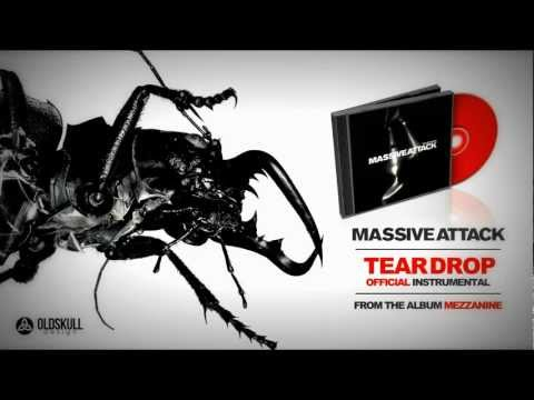 Massive Attack - Teardrop Official Instrumental - Lyrics on Screen (HQ)