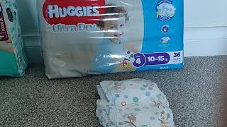 Huggies ultra dry size for boys nappies