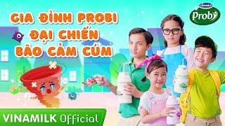 MV Gia Đình Probi Đại Chiến Bão Cảm Cúm - Nhạc thiếu nhi Con Heo Đất Remix 2019 - Vinamilk