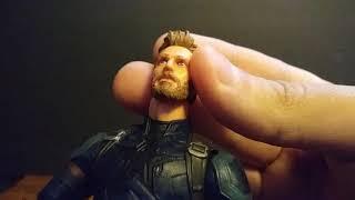 Defending The Marvel Legends Infinity War Captain America Action Figures