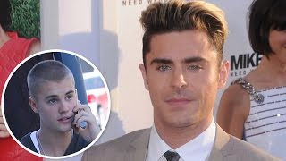 Zac Efron Received Career Advice From Justin Bieber