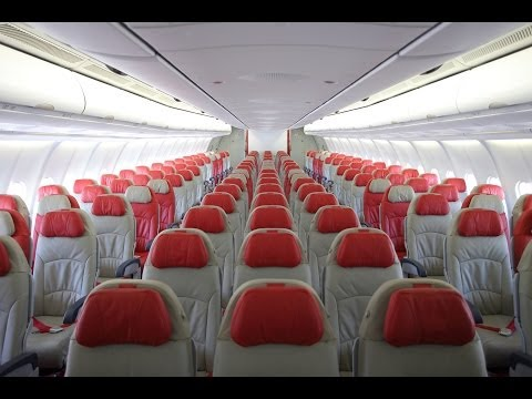 Thai AirAsia X Airbus A330-300 Aircraft Tour - HD (May 2014)
