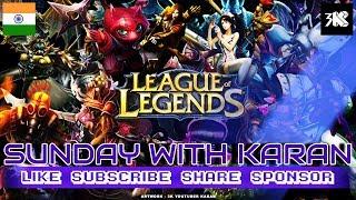 (PC) Karan ● Ranked Match League Of Legends ✅ JUNGLER