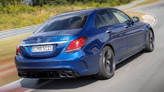 2019 Mercedes-AMG C63 S Sedan -  Race Track Test