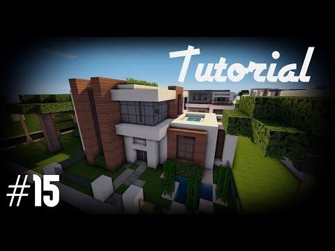Minecraft: Como hacer una casa moderna #15 Tutoriales Construcciones