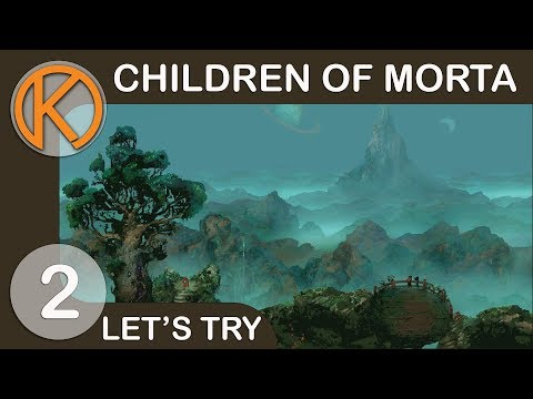 Children of Morta | SILK CAVERNS - Ep. 2 | Let's Play Children of Morta Gameplay