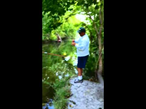 Cane Pole Fishing