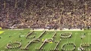 LSU' band plays the office theme song