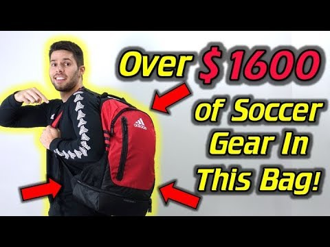 OVER $1600 of the Best Soccer Gear! - What's In My Soccer Bag - August 2017