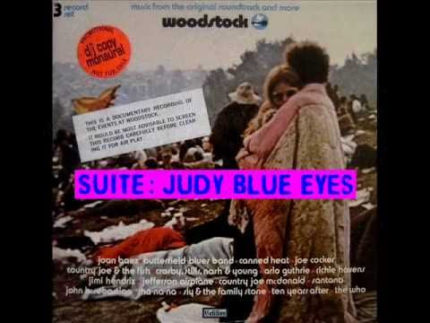 Crosby, Stills, Nash & Young (Suite: Judy Blue Eyes) - Mono Mix, Woodstock 69, 1970 Cotillion LP.