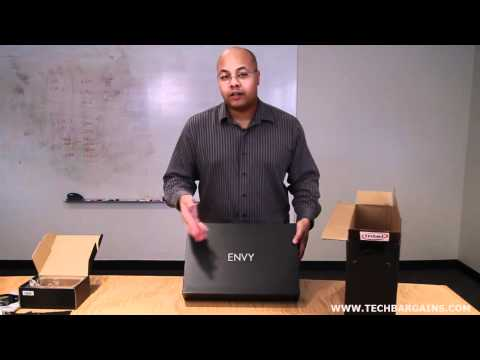 HP Envy 17 3D Unboxing (HD)