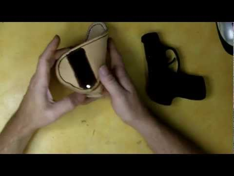 Part 8-12 How to Make a Leather Holster
