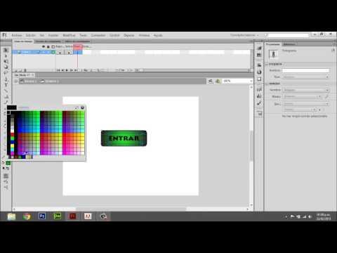 Como hacer un boton en flash cs6